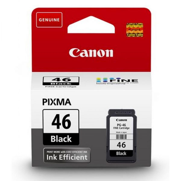 Canon pg-46 Noir cartouche encre originale 9059B001AA