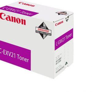 Canon C-EXV 21 Magenta Toner Original (0454B002AA) Prix Maroc