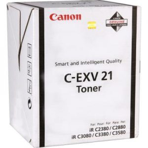 Canon C-EXV 21 Noir Toner Original (0452B002AA) Prix Maroc