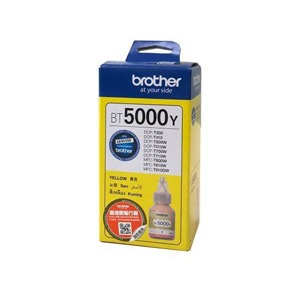 Brother BT5000Y Yellow bouteille encre original Maroc