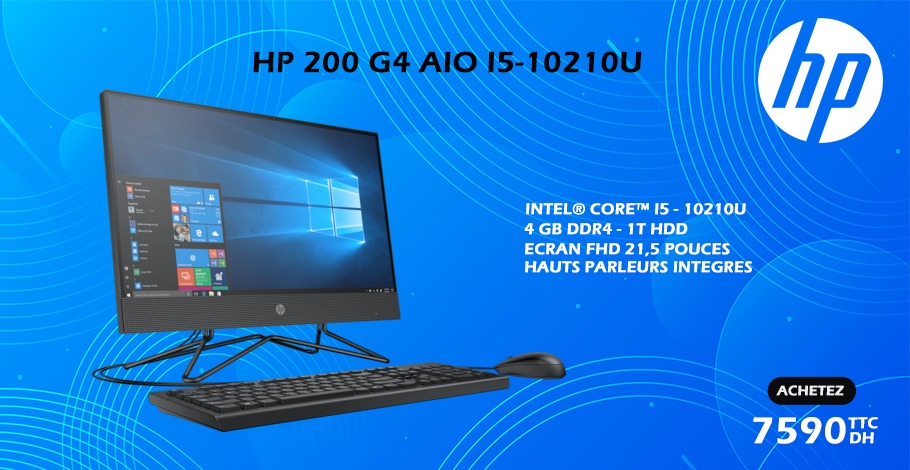 ALL IN ONE HP 200 G4 I5 10th